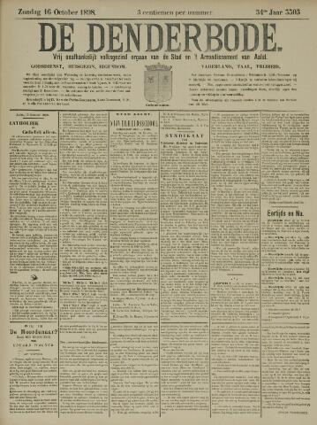 De Denderbode 1898-10-16