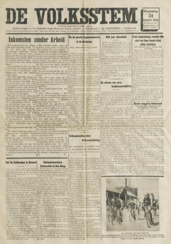 De Volksstem 1938-08-24