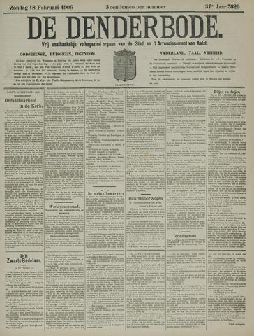 De Denderbode 1906-02-18