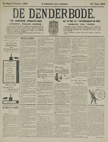 De Denderbode 1911-10-08