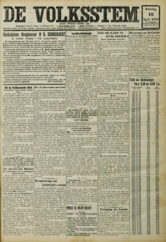 De Volksstem 1932-04-16