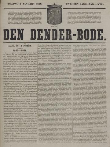 De Denderbode 1848-01-02