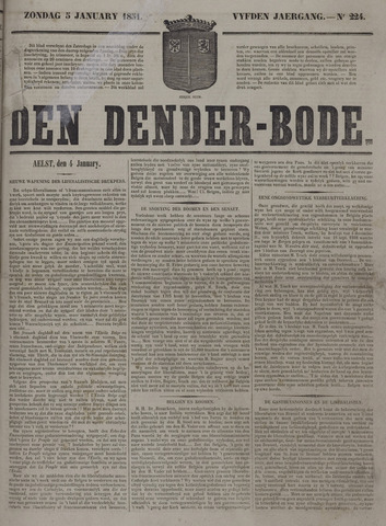 De Denderbode 1851