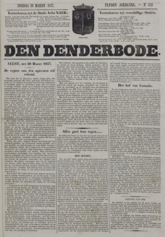 De Denderbode 1857-03-29