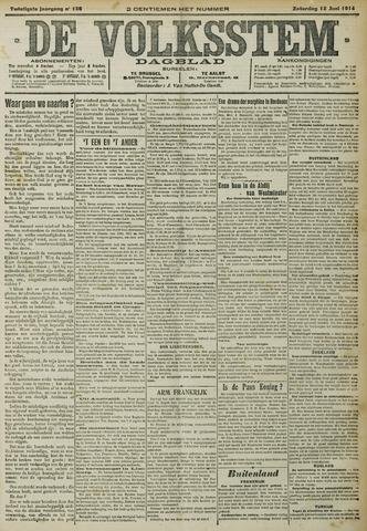 De Volksstem 1914-06-13