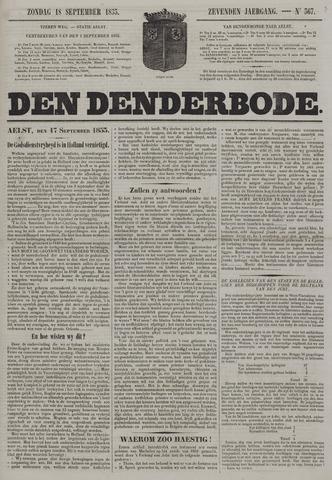 De Denderbode 1853-09-18