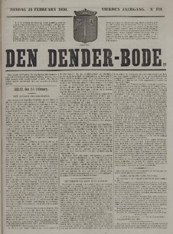 De Denderbode 1850-02-24