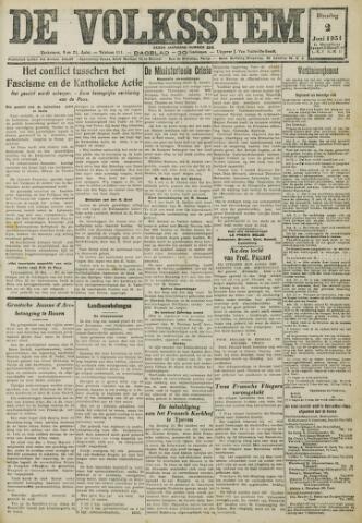 De Volksstem 1931-06-02