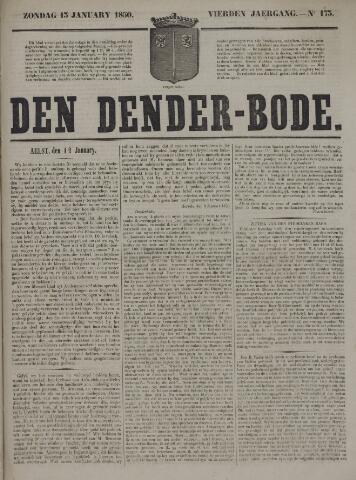 De Denderbode 1850-01-13