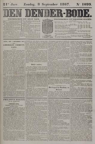 De Denderbode 1867-09-08