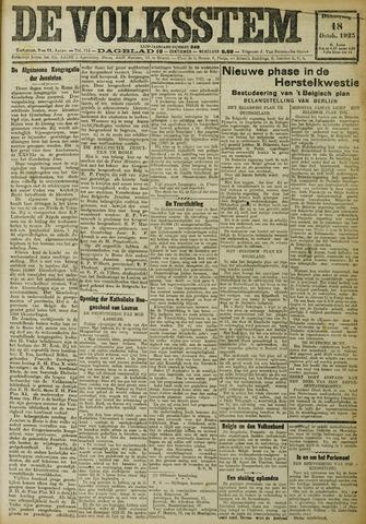De Volksstem 1923-10-18