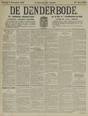 De Denderbode 1911-11-05