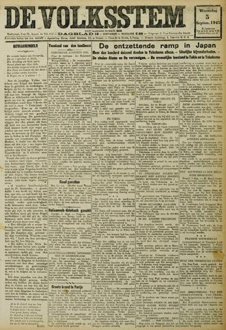 De Volksstem 1923-09-05