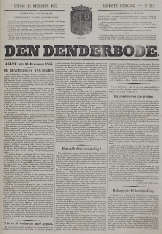 De Denderbode 1853-12-25