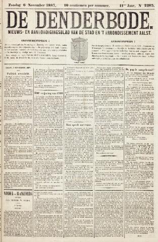 De Denderbode 1887-11-06