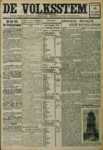 De Volksstem 1932-10-13