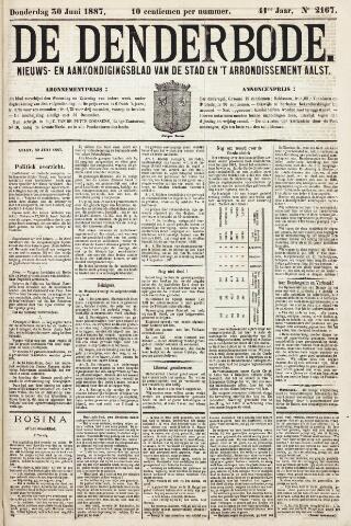 De Denderbode 1887-06-30