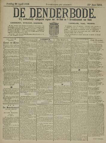 De Denderbode 1898-04-10
