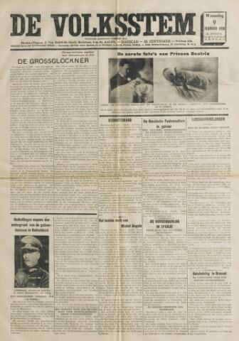De Volksstem 1938-02-09
