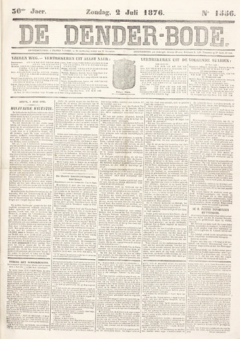 De Denderbode 1876-07-02