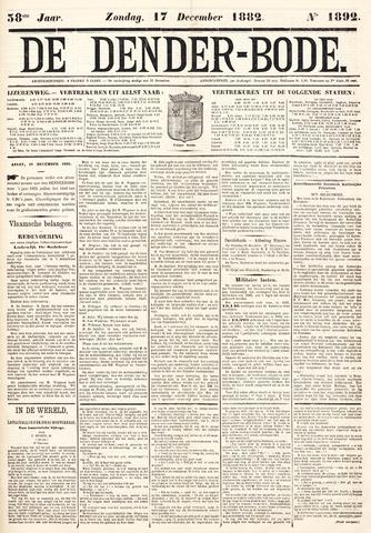 De Denderbode 1882-12-17