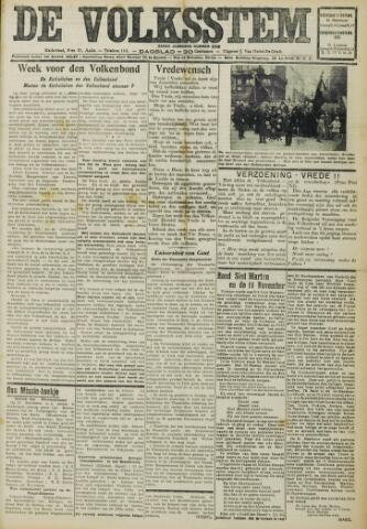 De Volksstem 1931-11-11