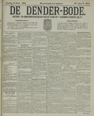 De Denderbode 1891-06-14