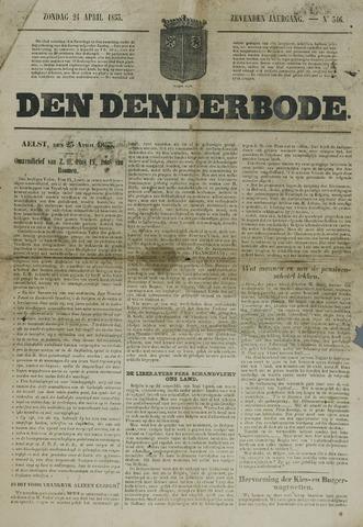 De Denderbode 1853-04-24