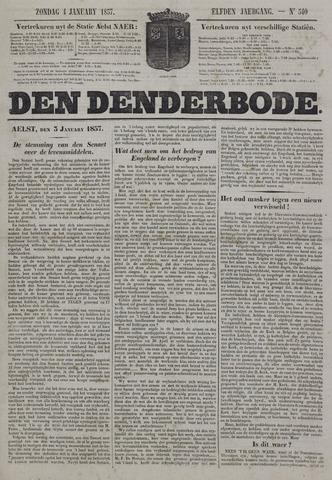 De Denderbode 1857