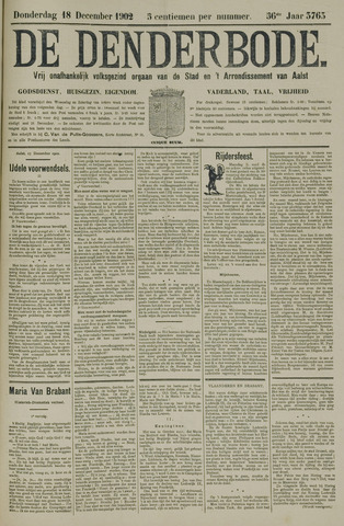 De Denderbode 1902-12-18