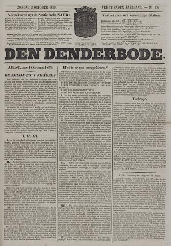 De Denderbode 1859-10-02