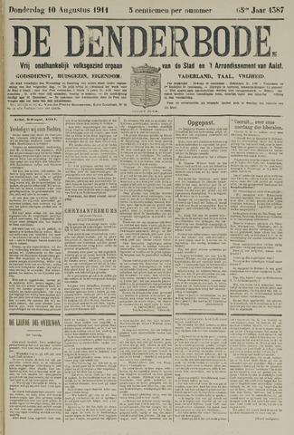 De Denderbode 1911-08-10