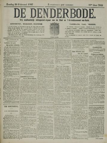 De Denderbode 1907-02-10