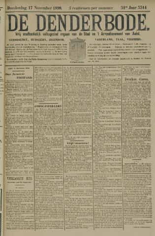 De Denderbode 1898-11-17