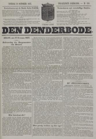 De Denderbode 1857-10-18