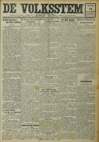 De Volksstem 1932-03-12