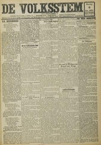 De Volksstem 1931-01-06