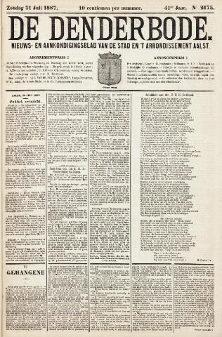 De Denderbode 1887-07-31