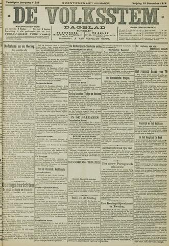 De Volksstem 1914-12-18