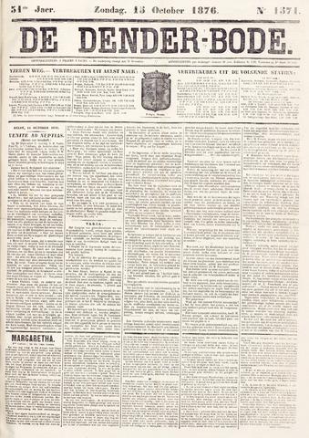 De Denderbode 1876-10-15