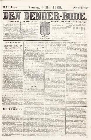 De Denderbode 1869-05-09