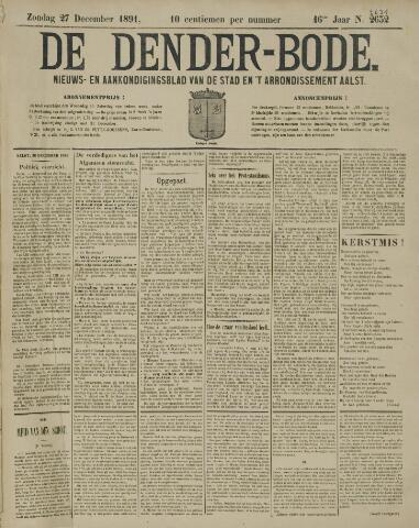 De Denderbode 1891-12-27