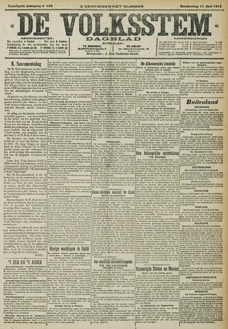 De Volksstem 1914-06-11