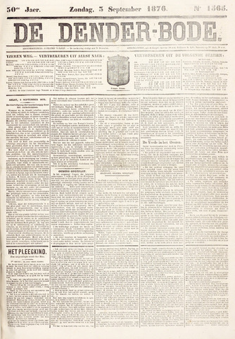 De Denderbode 1876-09-03