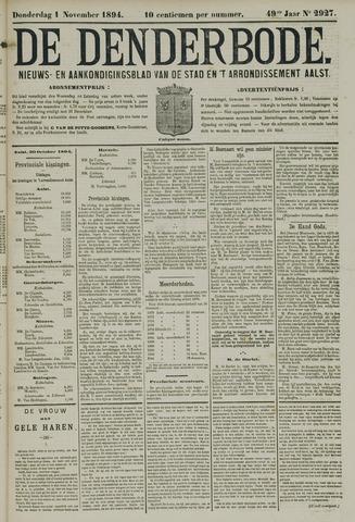 De Denderbode 1894-11-01