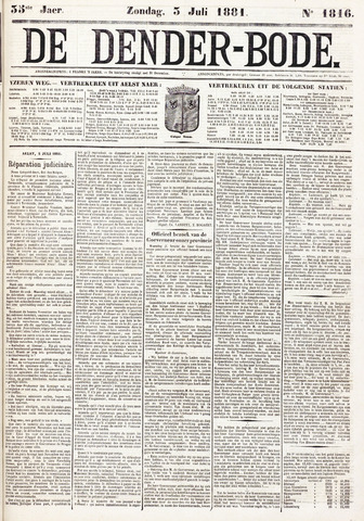 De Denderbode 1881-07-03