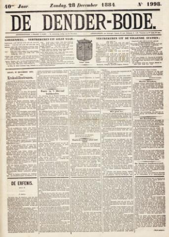 De Denderbode 1884-12-28