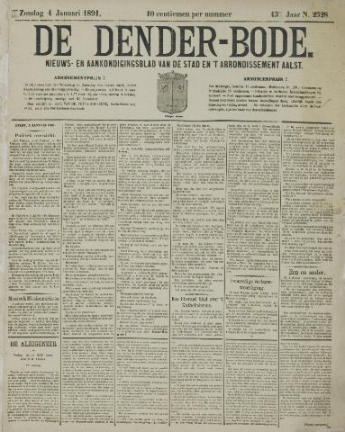 De Denderbode 1891-01-04