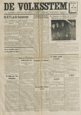 De Volksstem 1938-04-02