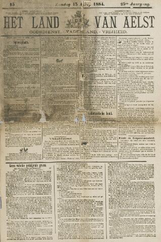 Het Land van Aelst 1884-04-13